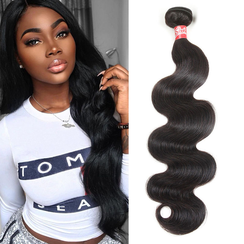 10A Grade Cambodian Hair Body Wave Bundles For Black Women 8 Inch